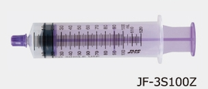 <title>胃ろう 代引き不可 PEG をご使用の方に JMS ジェイフィードENシリンジ ISO80369-3規格 キャップ付き カテーテルチップシリンジ 100mL 25本入 JF-3S100Z</title>