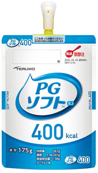 テルモ PGソフトEJ 400kcal 半固形タイプ ヨーグルト味 267g×18パック入 PE-15ES040