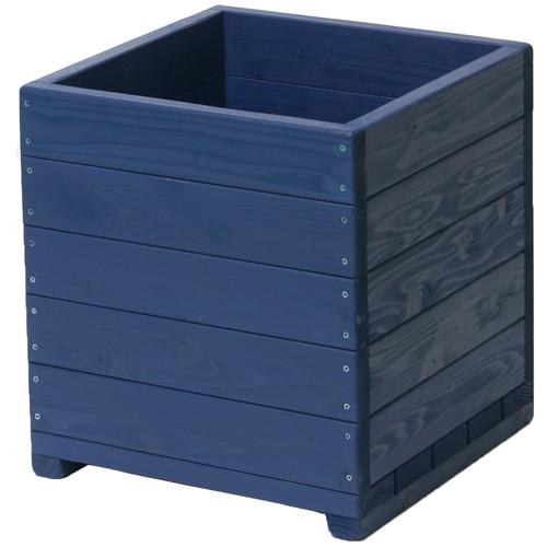 Welcome wood 大型植木鉢 15号ウッドプランター EHD15-GB  容量・約73リットル   (大型 植木鉢 木製 大型プランター 大型鉢 鉢カバー)
