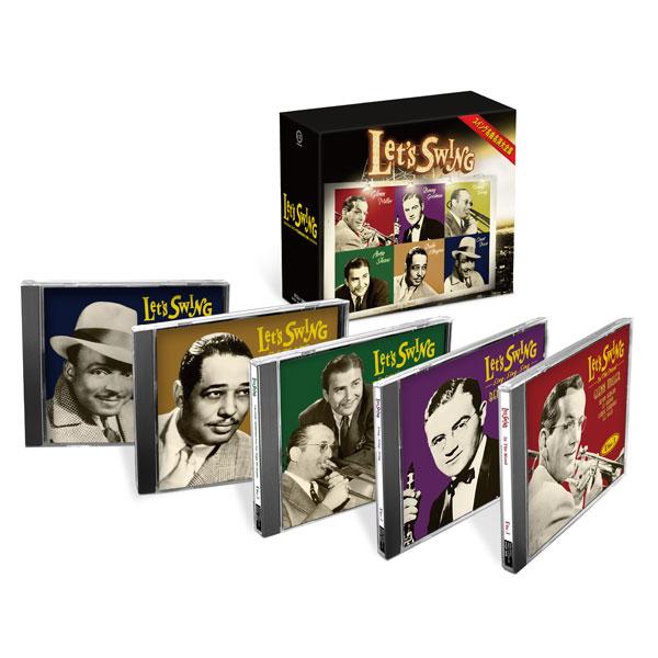 LET'S SWING スイング名曲名演大全集 CD5枚組 DYCP-1676 ジャズ 通販限定
