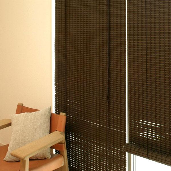 竹 ロールスクリーン ニュアンス 和風 遮光 ロールアップシェード 日本製 幅176×高さ180cm RC-1540W すだれ 間仕切り【送料無料】