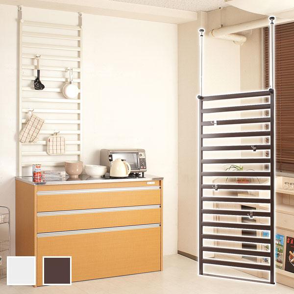 家具に設置できるパーテーション 幅60cm 棚なし NJ-0031/NJ-0035