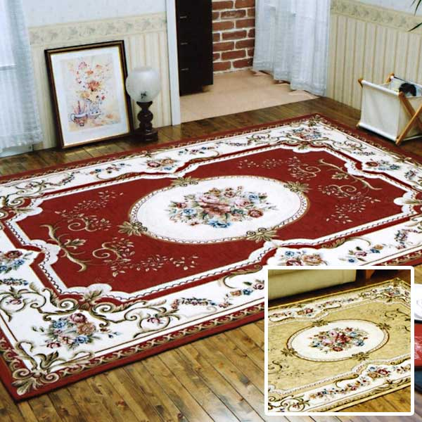 イタリア製ジャガード織シェニールカーペット CLASSIC 175×240cm【送料無料】