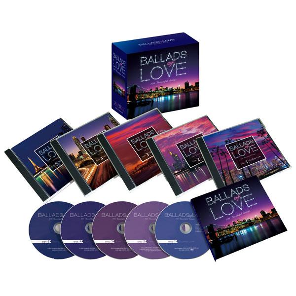 バラード・オブ・ラヴ~100ビューティフル・ソングス バラードオブラヴ CD5枚組 DYCS-1221 ロック ポップス 通販限定【送料無料】