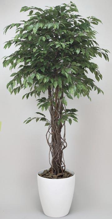 アートグリーン 人工観葉植物 光触媒 光の楽園 ベンジャミンリアナ1.8 152F600 2020年版
