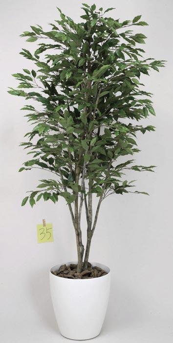 アートグリーン フェイクグリーン 人工観葉植物 光触媒 光の楽園 ベンジャミンツリー1.8 157C480 2020年版
