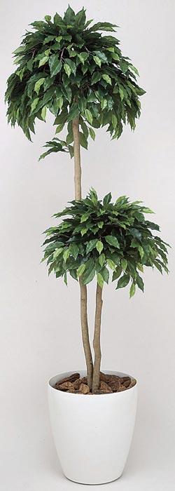 アートグリーン 人工観葉植物 光触媒 光の楽園 ベンジャミンダブル1.6 168A300 2020年版