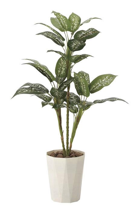 アートグリーン 人工観葉植物 光触媒 光の楽園 ディフェンバキア90 619A120 2020年版