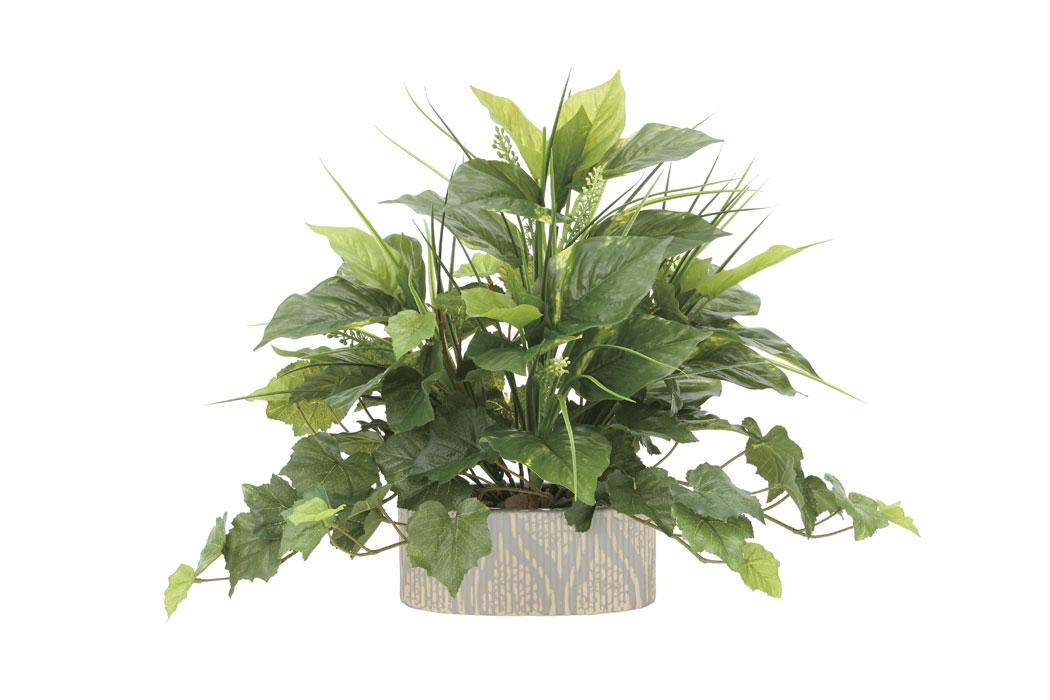 アートグリーン 人工観葉植物 光触媒 光の楽園 フレッシュミックス 874A100 2020年版