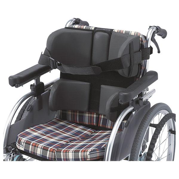 【ウェルパートナーズ】骨盤を支え安定した姿勢を保持 モジュラーサポートシステム 大人用腰パッドセット / MSS32【メーカー直送】※返品・交換不可※代引不可※【介護用品】車椅子用クッション【通販】