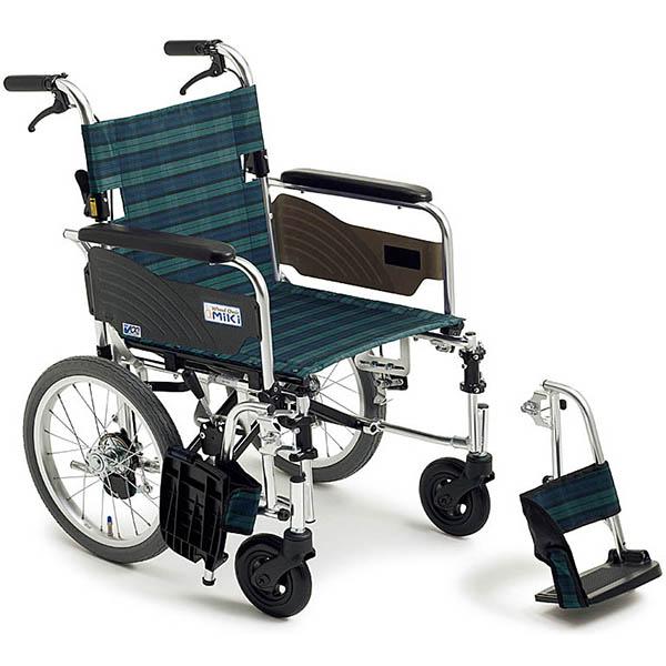 【ミキ】軽量車いす ライトストリーム 介助型 LSC-43RD(介助用ドラムブレーキ付) (#32・#46・#47・#54) =非課税=【メーカー直送】※返品・交換不可※代引不可※【介護用品】車椅子/イス/折りたたみ/折り畳み/介助用/介助/在宅/施設【通販】