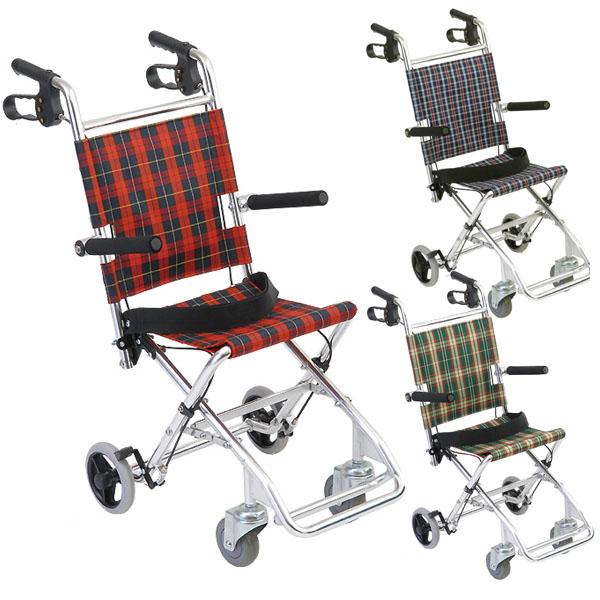 【美和商事】介助式小型車いす チビポン / HTB-AC1 =非課税=【メーカー直送】※返品・交換不可※代引不可※【介護用品】簡易車椅子【通販】