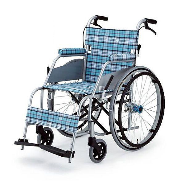 【片山車椅子製作所】超軽量車いす KARL(カール)自走式 / KW-901B =非課税=【メーカー直送】返品交換代引不可【介護用品】車椅子/イス【通販】