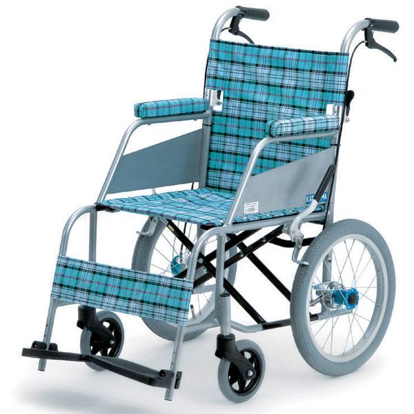 【片山車椅子製作所】超軽量車いす KARL(カール)介助式 / KW-903B =非課税=【定番在庫】即日・翌日配送可【介護用品】車椅子/イス【通販】
