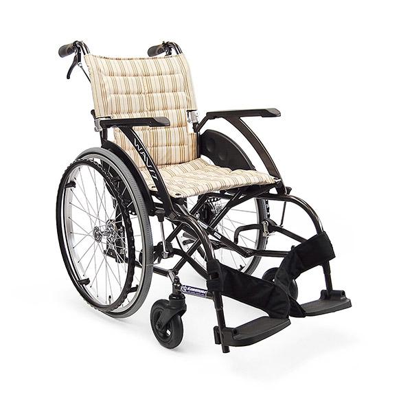 【カワムラサイクル】自走用 WAVIT(ウェイビット) エアタイヤ仕様 (A13・No95) / WA22-40A・WA22-42A =非課税=【メーカー直送】※返品・交換不可※代引不可※【介護用品】車椅子【通販】