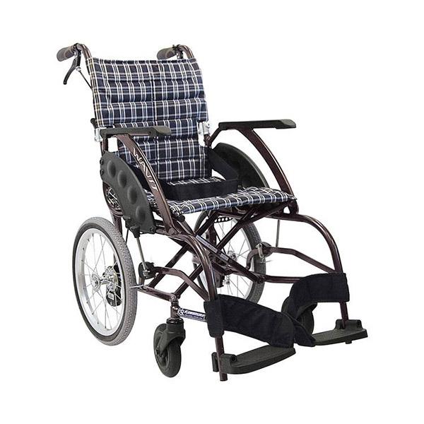 【カワムラサイクル】介助用 WAVIT(ウェイビット) エアタイヤ仕様 (A13・No95) / WA16-40A・WA16-42A =非課税=【メーカー直送】※返品・交換不可※代引不可※【介護用品】車椅子【通販】