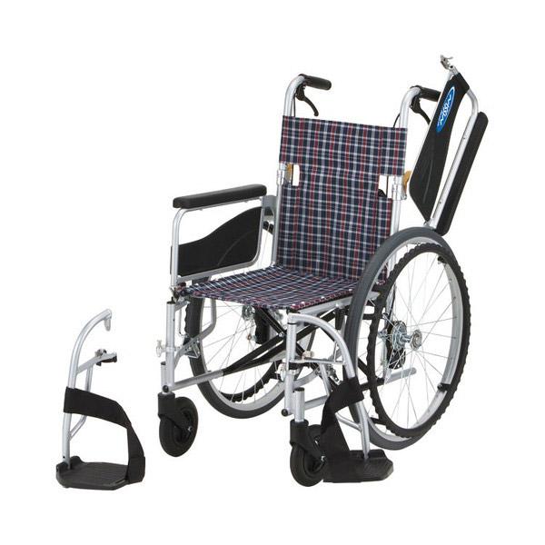 【日進医療器】アルミ自走車いす NEO-1W (座幅40cm・座幅42cm) / NEO-1W =非課税=【メーカー直送】※返品・交換不可※代引不可※【介護用品】車椅子【通販】