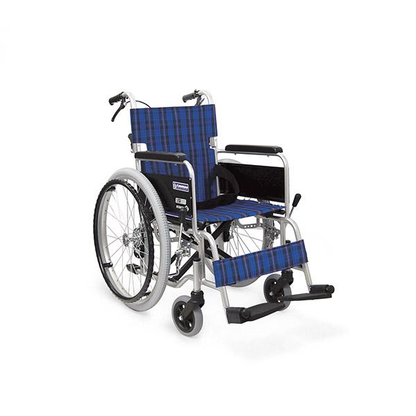 【カワムラサイクル】アルミ自走車いす KA102SB-40・KA102SB-42 (No91・A3・A9・A11) / KA102SB =非課税=【メーカー直送】※返品・交換不可※代引不可※【介護用品】車椅子【通販】