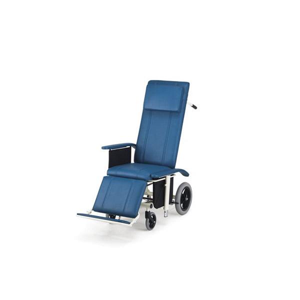 【日進医療器】リクライニング車いす NHR-16 / NHR-16 =非課税=【メーカー直送】※返品・交換不可※代引不可※【介護用品】車椅子/車いす/イス/高齢者/在宅/施設/シンプル/コンパクト/軽量/扱いやすい【通販】