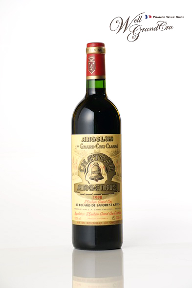 【送料無料】アンジェリュス1998 フランス サン・テミリオン 赤ワイン フルボディCH.ANGELUS1998【飲み頃】 高級ワイン 贈答品