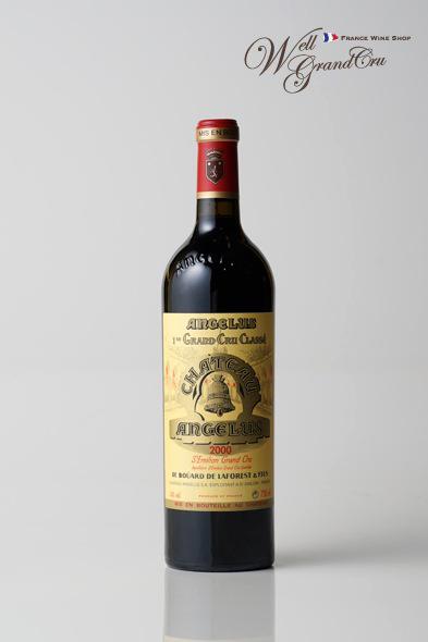 【送料無料】アンジェリュス2000 フランス サン・テミリオン 赤ワイン フルボディCH.ANGELUS2000 パーカーポイント97点 高級ワイン 贈答品