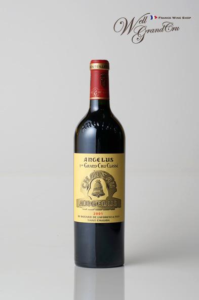 【送料無料】アンジェリュス2001 フランス サン・テミリオン 赤ワイン フルボディCH.ANGELUS2001 高級ワイン 贈答品