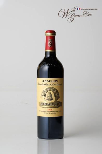【送料無料】アンジェリュス2005 フランス サン・テミリオン 赤ワイン フルボディCH.ANGELUS2005 高級ワイン 贈答品