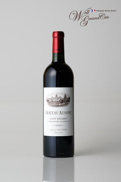 【送料無料】オーゾンヌ2002 フランス サン・テミリオン 赤ワイン フルボディCH.AUSONE2002 パーカーポイント95点 高級ワイン 贈答品