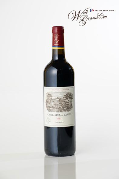 【送料無料】カリュアド ド ラフィット2007 フランス ポイヤック 赤ワイン フルボディCARAUADES DE LAFITE2007【飲み頃】 高級ワイン 贈答品