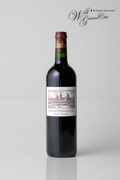 コス デストゥルネル2007 フランス サン・テステフ 赤ワイン フルボディCH.COS D'ESTOURNEL2007 高級ワイン 贈答品