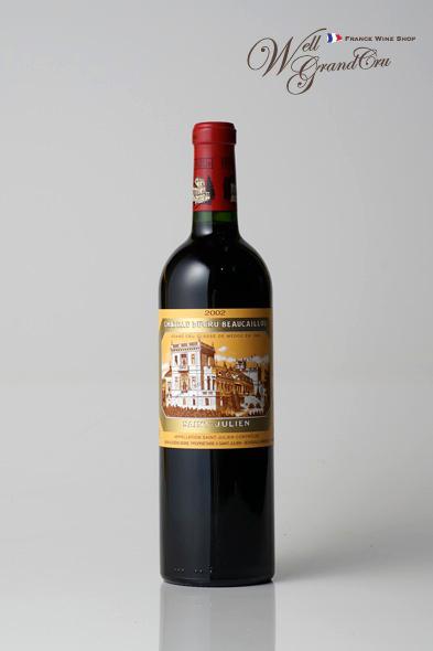デュクリュ ボーカイユ2002 フランス サン・ジュリアン 赤ワイン フルボディCH.DUCRU-BEAUCAILLOU2002【 飲み頃 】高級ワイン 贈答品