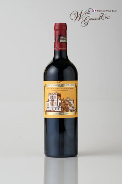 【送料無料】デュクリュ ボーカイユ2005 フランス サン・ジュリアン 赤ワイン フルボディCH.DUCRU-BEAUCAILLOU2005 パーカーポイント97点 高級ワイン 贈答品