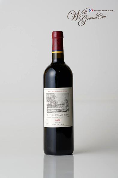 デュアール ミロン2006 フランス ポイヤック 赤ワイン フルボディCH.DUHART-MILON2006 高級ワイン 贈答品