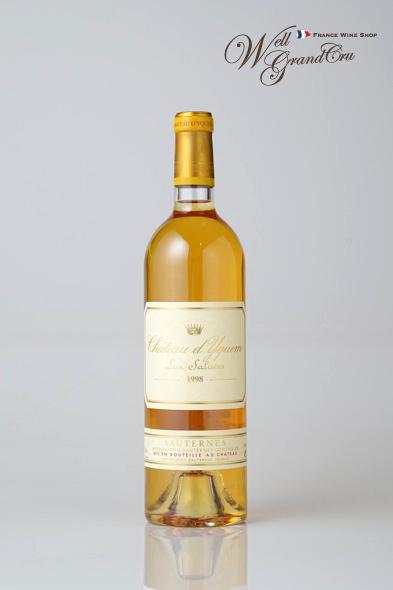 【送料無料】ディケム1998 フランス ソーテルヌ 白ワイン 甘口 デザートワイン 貴腐ワインCh.d'Yquem1998 高級ワイン 贈答品
