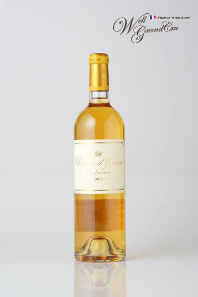 【送料無料】ディケム2003フランス ソーテルヌ 白ワイン 甘口 デザートワイン 貴腐ワイン Ch.d'Yquem2003 高級ワイン 贈答品