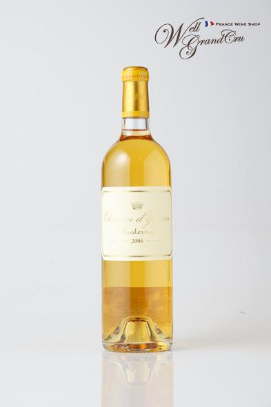 【送料無料】ディケム2006フランス ソーテルヌ 白ワイン 甘口 デザートワイン 貴腐ワイン Ch.d'Yquem2006 高級ワイン 贈答品