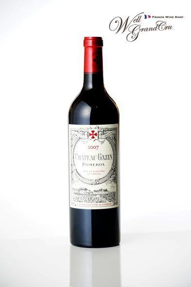 ガザン2007 フランス ポムロール 赤ワイン フルボディCH.GAZIN 2007 高級ワイン 贈答品