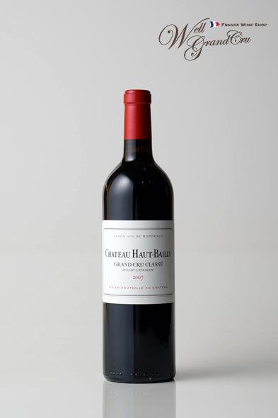 オーバイィ2007 フランス ペサック・レオニャン 赤ワイン フルボディ CH.HAUT BAILLY2007 高級ワイン 贈答品