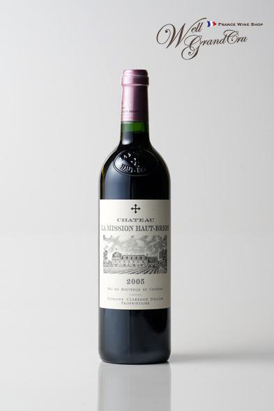 【送料無料】ラ ミッション オーブリオン2005 フランス ペサック・レオニャン 赤ワイン フルボディCH.LA MISSION HAUT-BRION2005 高級ワイン 贈答品