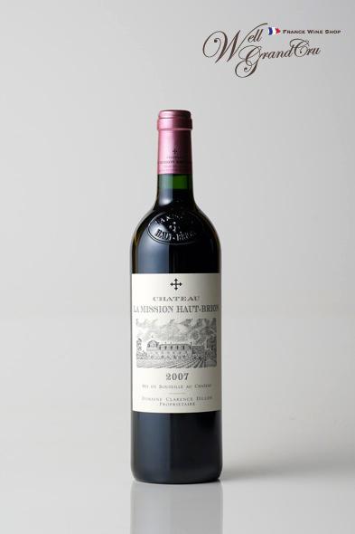 【送料無料】ラ ミッション オーブリオン2007 フランス ペサック・レオニャン 赤ワイン フルボディCH.LA MISSION HAUT-BRION2007 高級ワイン 贈答品