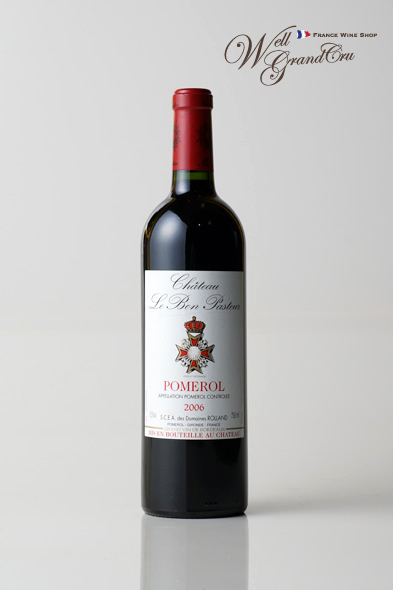 ル ボン パストゥール2006 フランス ポムロール 赤ワイン フルボディCH.LE BON PASTEUR2006 高級ワイン 贈答品