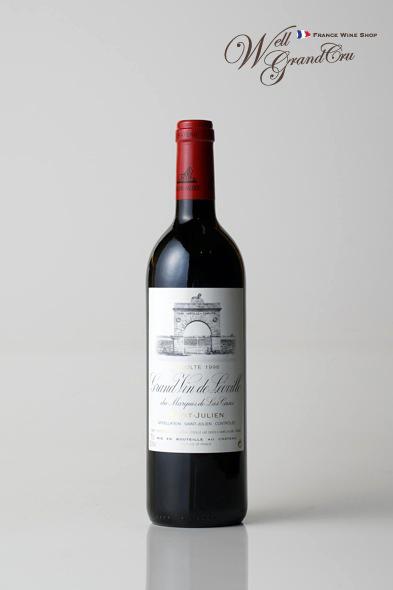 【送料無料】レオヴィル ラス カーズ デュ マルキ ド ラス カズ1996 フランス サン・ジュリアン 赤ワイン フルボディLEOVILLE DU MARQUIS DE LAS CASES1996 パーカーポイント98点 高級ワイン 贈答品