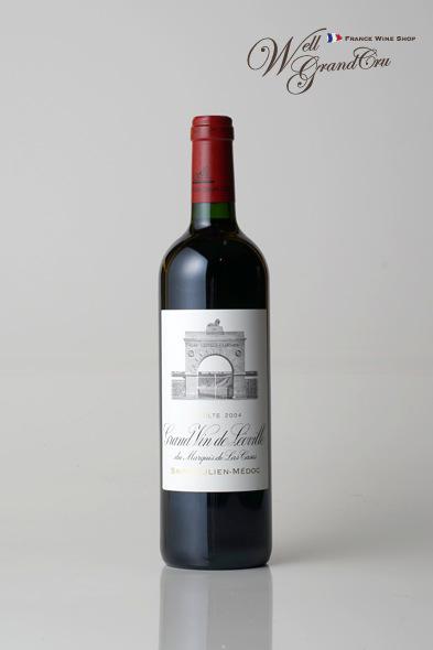 レオヴィル ラス カーズ デュ マルキ ド ラス カズ2004 フランス サン・ジュリアン 赤ワイン フルボディLEOVILLE DU MARQUIS DE LAS CASES2004 高級ワイン 贈答品