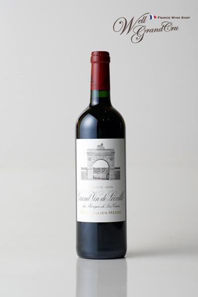 【送料無料】レオヴィル ラス カーズ デュ マルキ ド ラス カズ2006 フランス サン・ジュリアン 赤ワイン フルボディLEOVILLE DU MARQUIS DE LAS CASES2006 パーカーポイント95点 高級ワイン 贈答品
