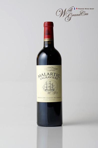マラルティック ラグラヴィエール2007 フランス ペサック・レオニャン 赤ワイン ミディアムボディCH.MALARTIC LAGRAVIERE2007 高級ワイン 贈答品