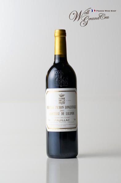 ピション ロングヴィル コンテス ド ラランド2003 フランス ポイヤック 赤ワイン フルボディCH.PICHON LONGUEVILLE COMTESSE2003 パーカーポイント95点 高級ワイン 贈答品