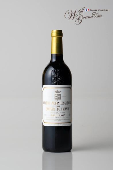 ピション ロングヴィル コンテス ド ラランド2004 フランス ポイヤック 赤ワイン フルボディCH.PICHON LONGUEVILLE COMTESSE2004【飲み頃】高級ワイン 贈答品