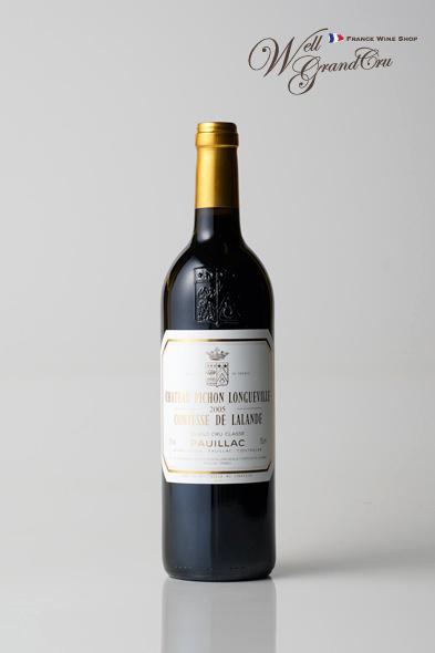 ピション ロングヴィル コンテス ド ラランド2005 フランス ポイヤック 赤ワイン フルボディCH.PICHON LONGUEVILLE COMTESSE2005【飲み頃】高級ワイン 贈答品