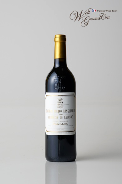 ピション ロングヴィル コンテス ド ラランド2006 フランス ポイヤック 赤ワイン フルボディCH.PICHON LONGUEVILLE COMTESSE2006 パーカーポイント95点 高級ワイン 贈答品