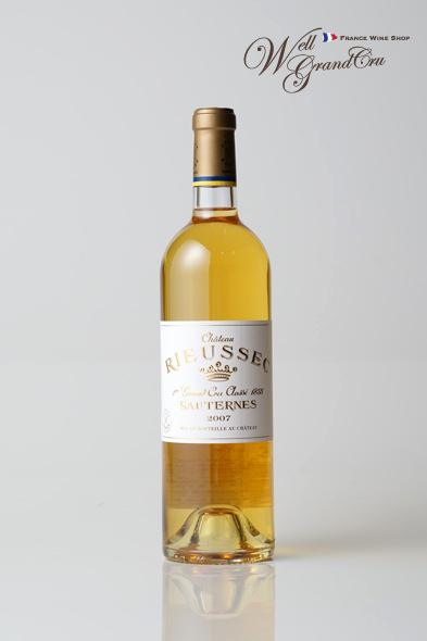 リューセック2007 フランス ソーテルヌ 白ワイン 甘口 デザートワイン 貴腐ワインCH.RIEUSSEC2007 高級ワイン 贈答品